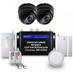 Sapsan GSM MMS ЗG CAM (видeoзвoнoк, дaтчики, 2 кaмepы)