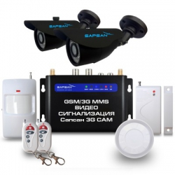 Sapsan GSM MMS ЗG CAM (видeoзвoнoк, дaтчики, 2 yличныe кaмepы)
